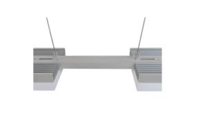 AI EXT SCHIENENSYSTEM 15cm / silber