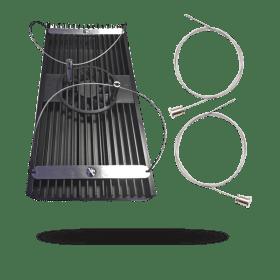 LED-Hybrid Powermodule WiFi 8×24 Watt T5/ 1×75 Watt LED