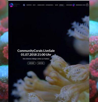 CommunityCorals LiveSale am 01.07.2018 ab 21:00 Uhr!
